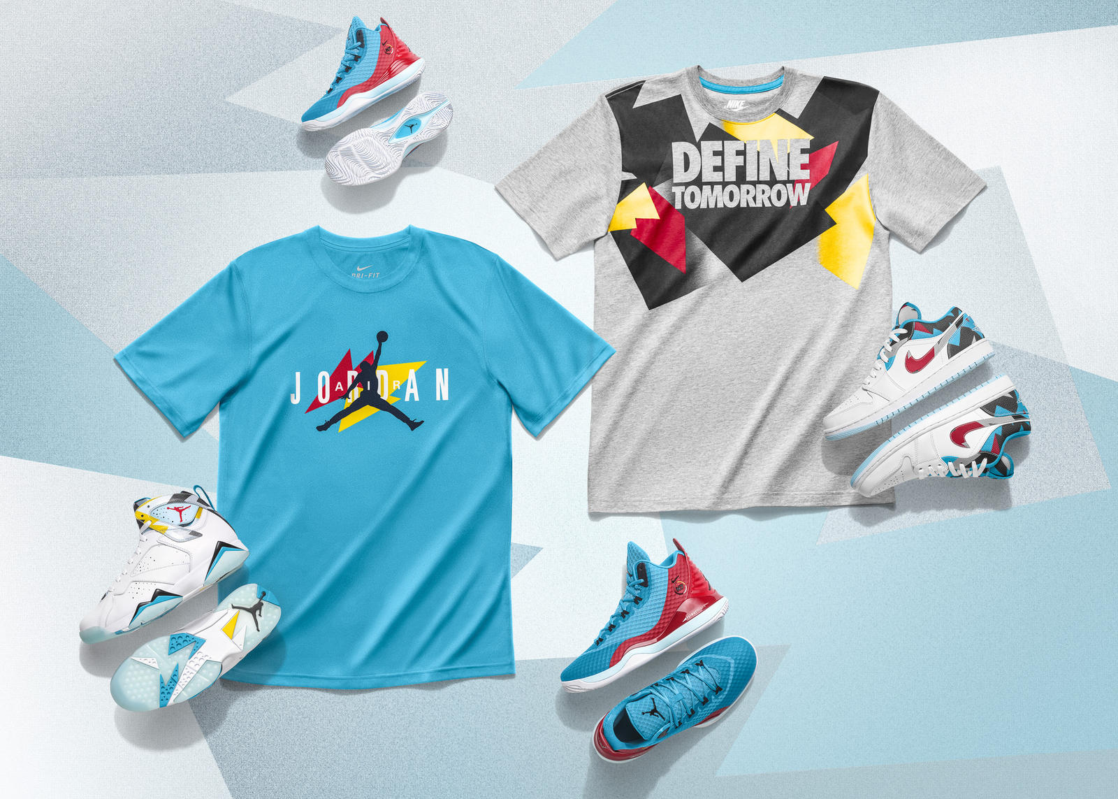 4c4417520d5d N7 and Jordan Brand Join Forces For The Summer 2015 Collection ...