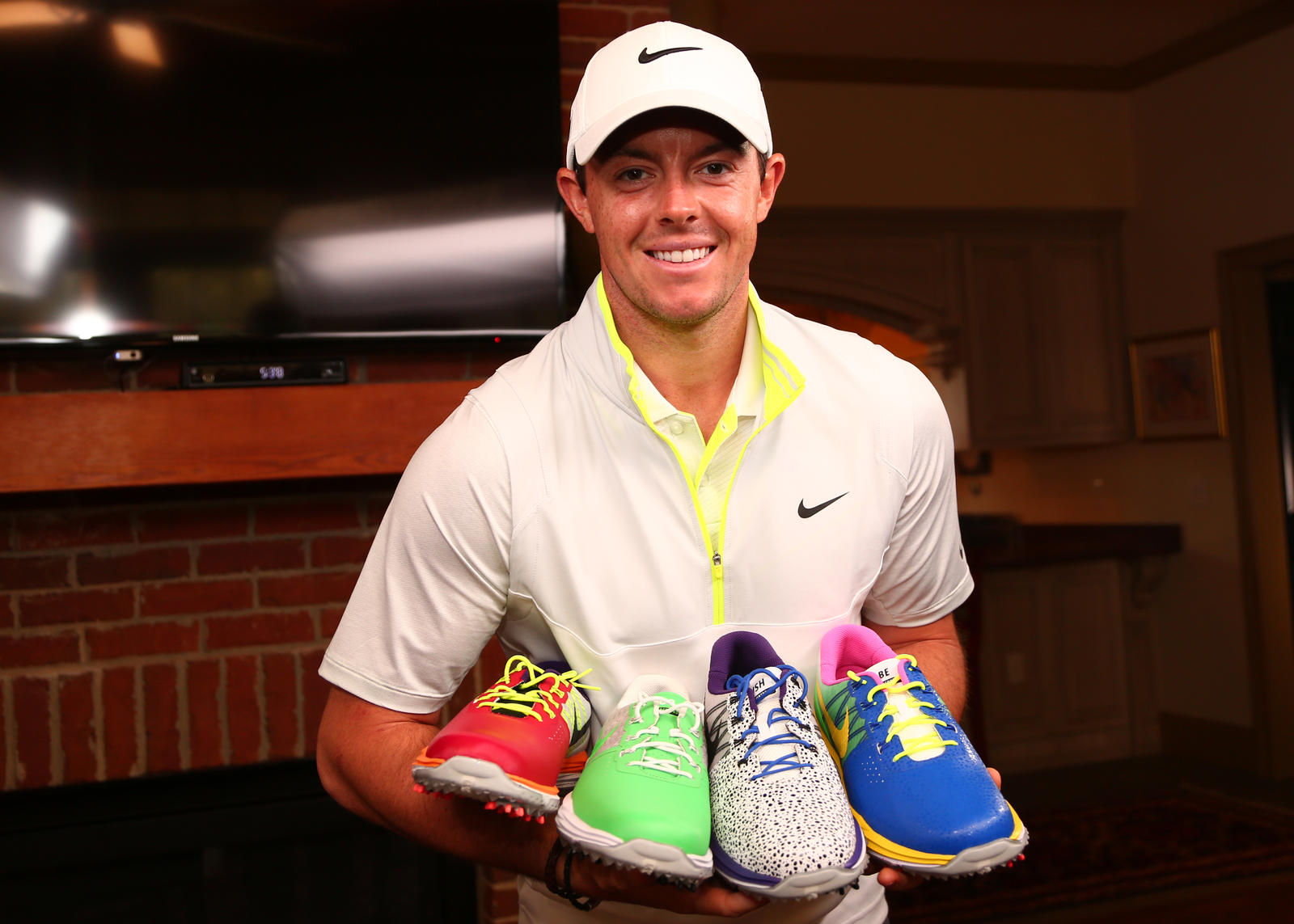 Rory McIlroy Laces Up for Kids Impacted