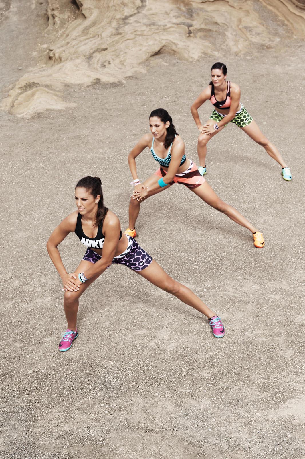 Nike Women Presents: U.S. National Team Midfielder Carli