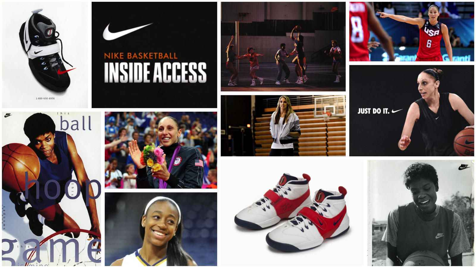 Nike basketball inside access collage hd 1600