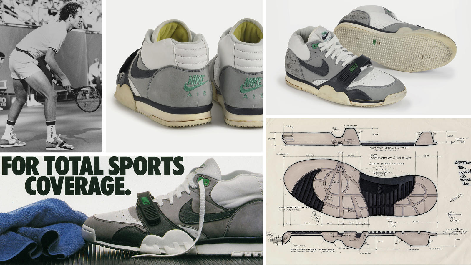 Nike News Trainer 1 Collage