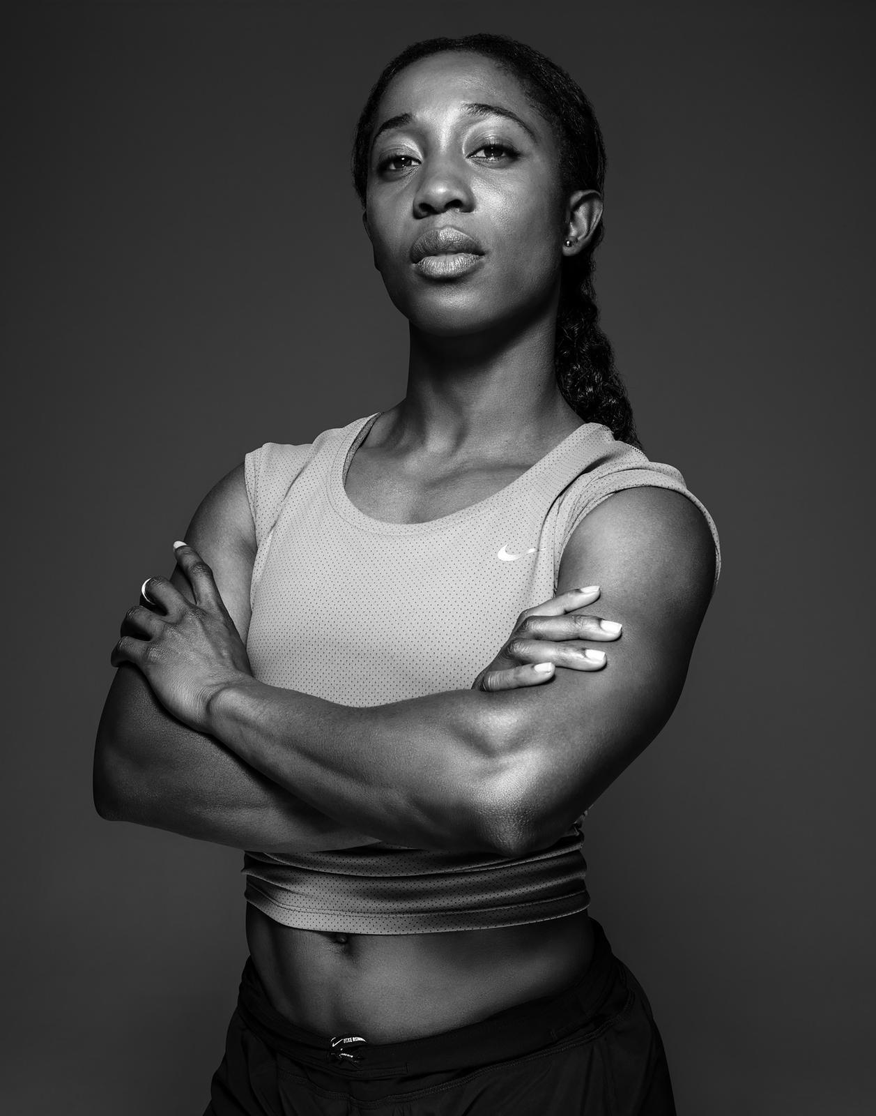 Shelly Ann.Fraser Pryce.Nike Legion Of Zoom