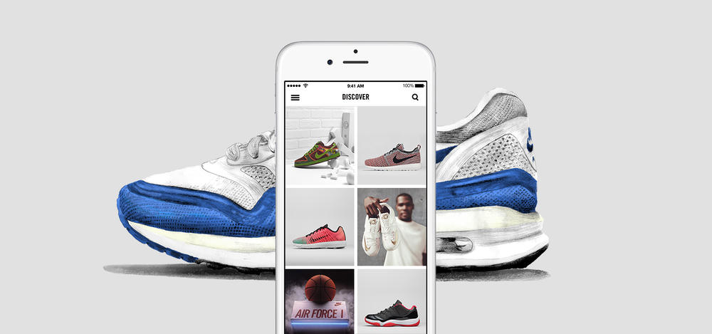 Nike SNKRS app delivers one-stop shop for coveted footwear