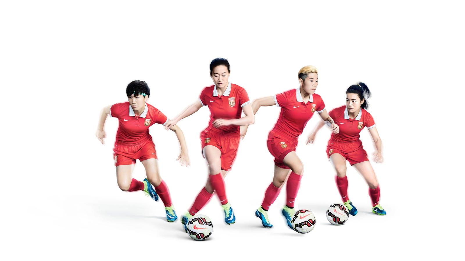 Nike Outfits The China National Womens Football Team For