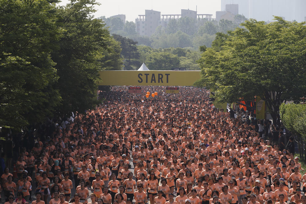 First Seoul Nike Women 15K Race Powers Women to Be #betterforit
