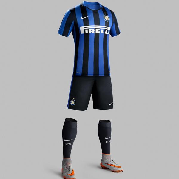 Nike Creates Classic Inter Milan Home Kit for 2015-16 - Nike News