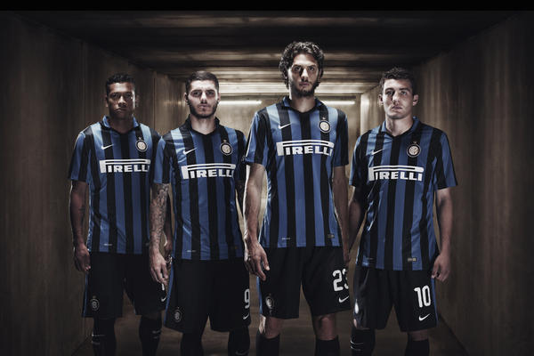 Nike Creates Classic Inter Milan Home Kit for 2015-16