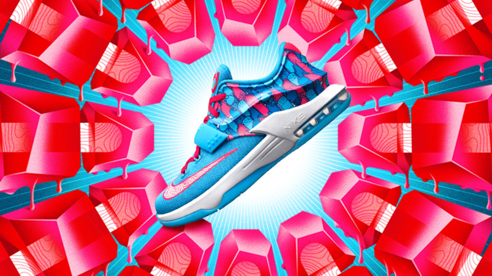 Nike News - Chillin' With KD: The KD7 Frozens Shoe Arrives Just In ...