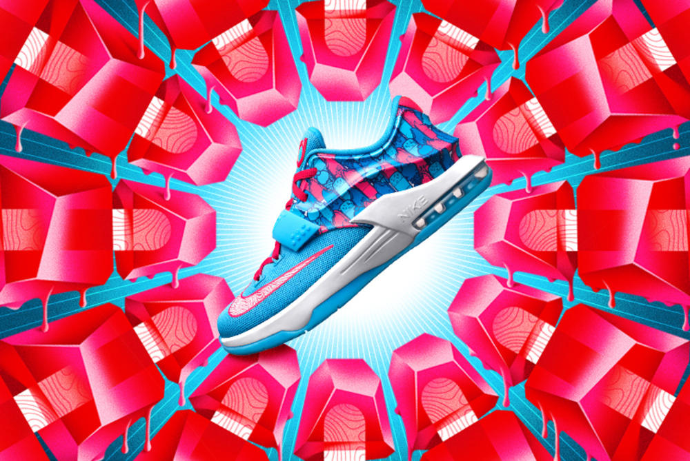 Chillin' With KD: The KD7 Frozens Shoe Arrives Just In Time For Summer Fun