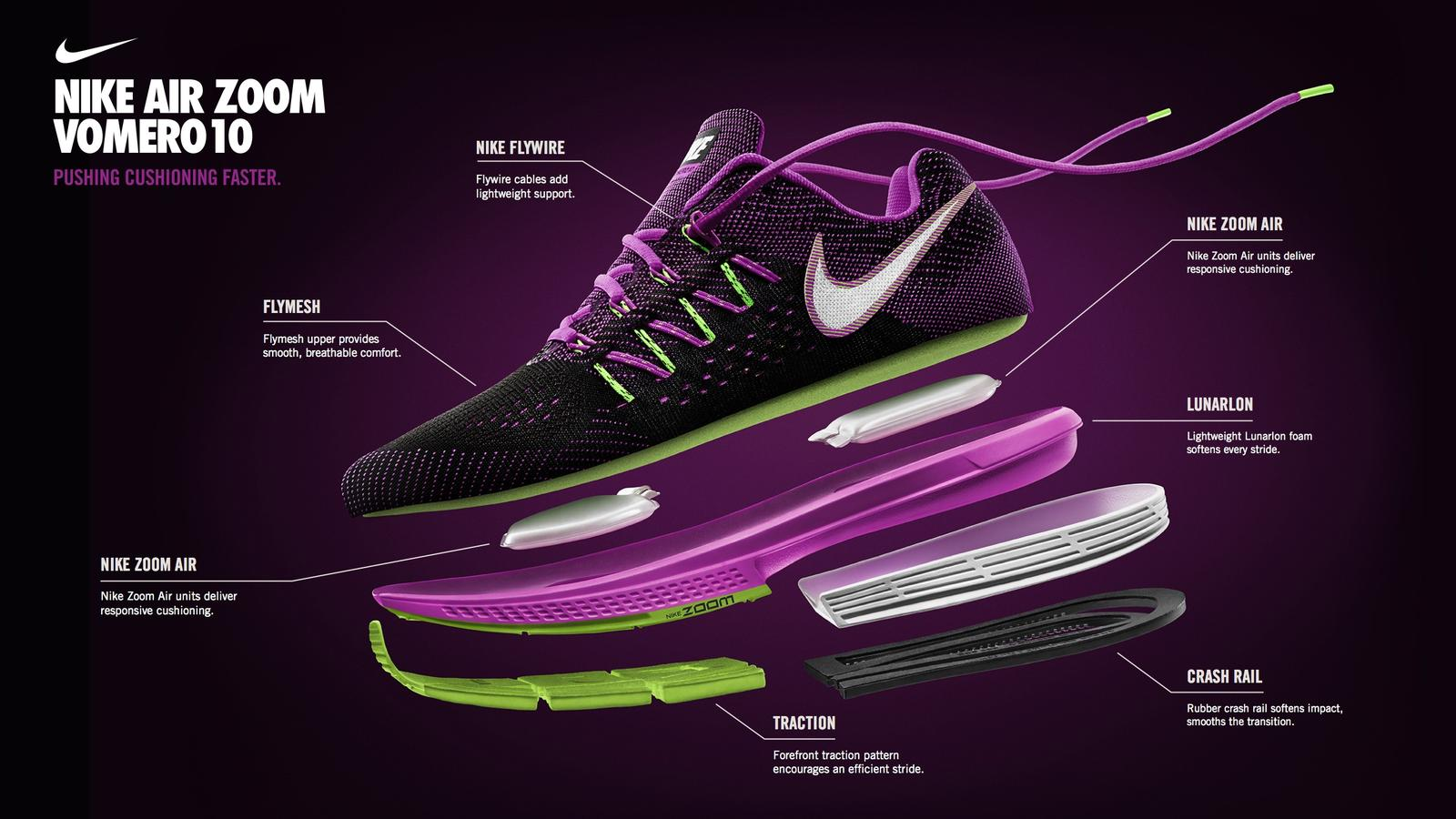 Womens Nike Air Zoom Vomero 10