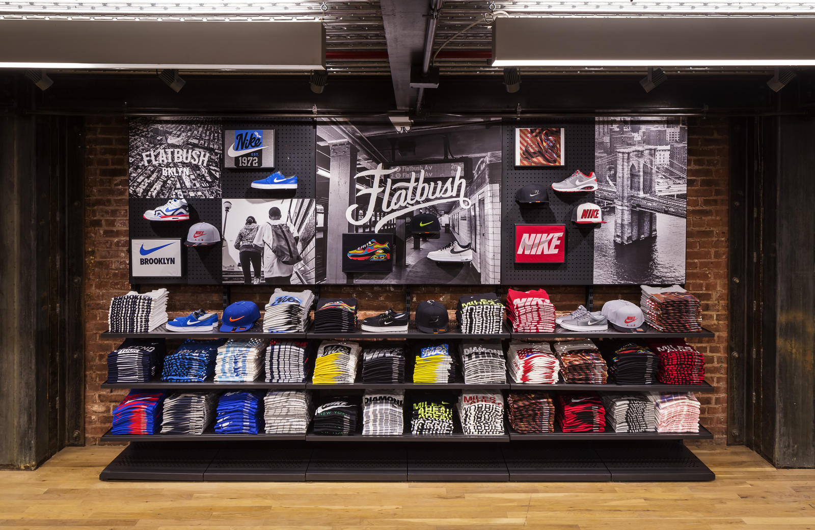 nostrand and flatbush nike opens first nyc community store in the heart of brooklyn nike news. Black Bedroom Furniture Sets. Home Design Ideas