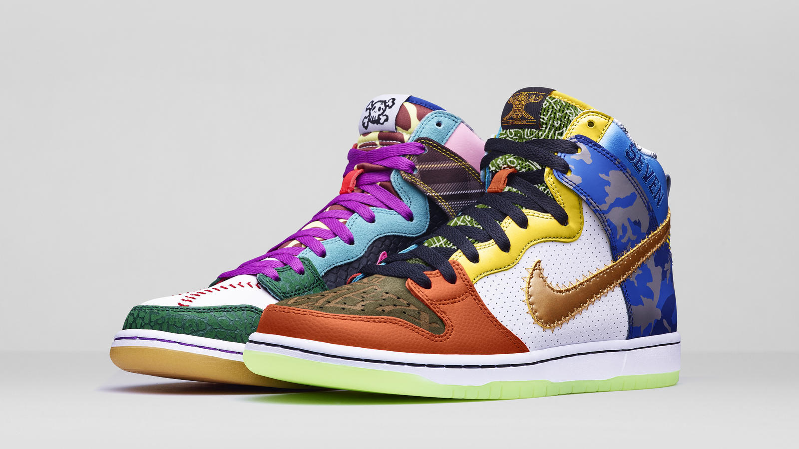 What The Doernbecher Nike Dunk High SB featuring 42 design elements from  all 13 of the programs SB designs