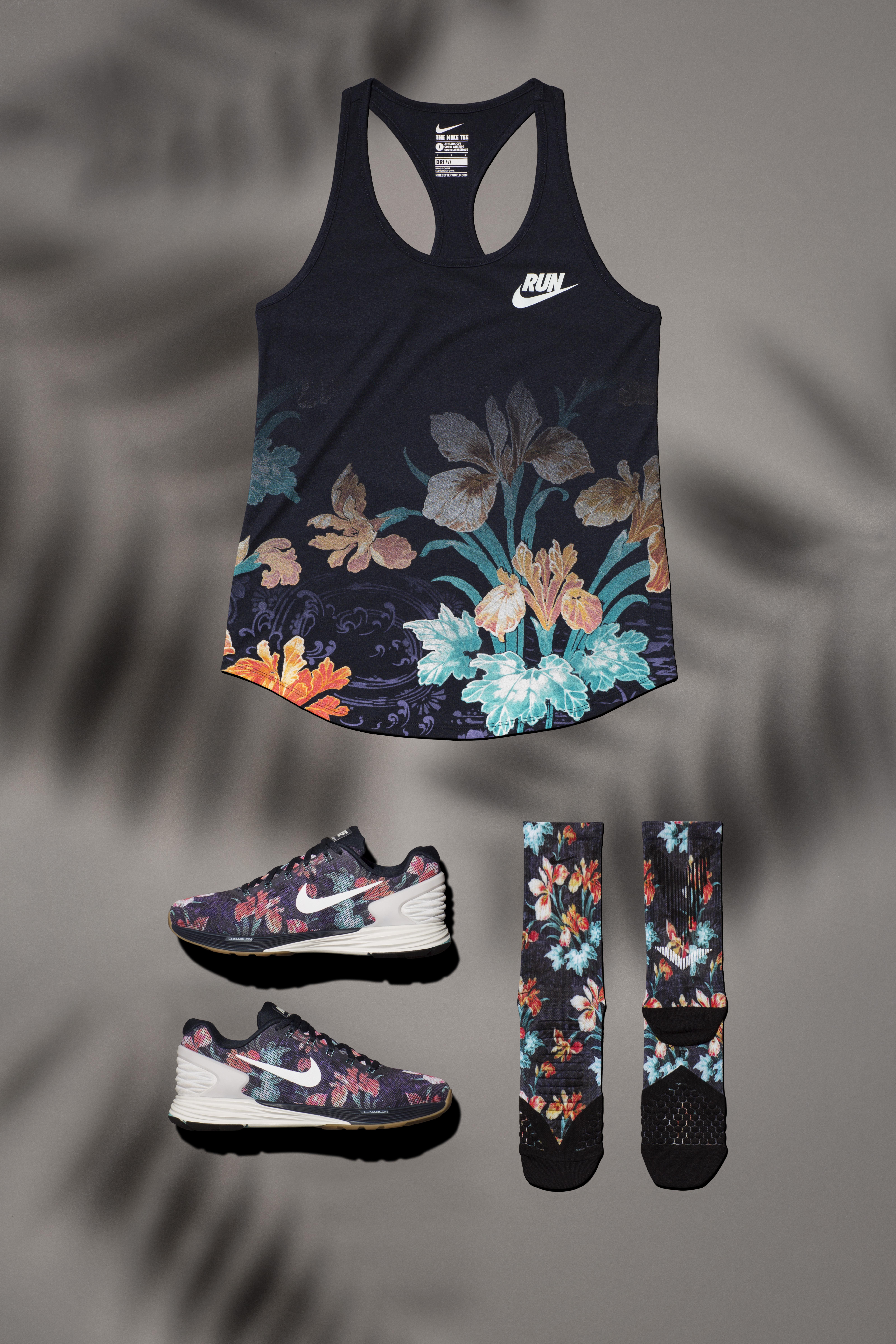 Nike Lunarglide Top 6 Des Femmes Florales véritable ligne 3fheka