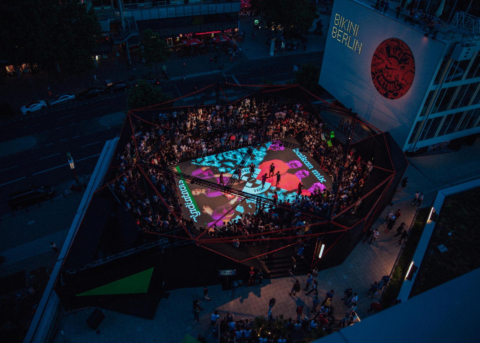 Nike Football Lights Up Berlin Nike News
