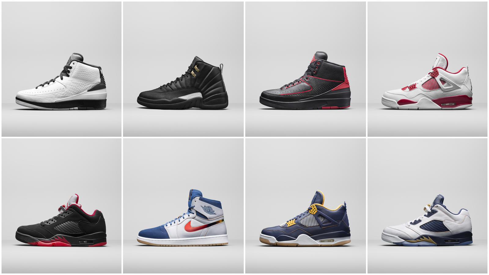 Jordan Brand Honors Soaring Achievements In Spring 2016 Legacy Shoe Collections