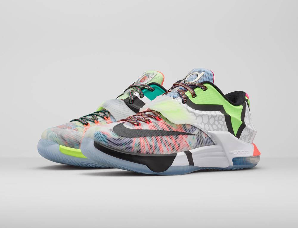 "KD7 ""What The"" Merges 18 Shoes Into One"