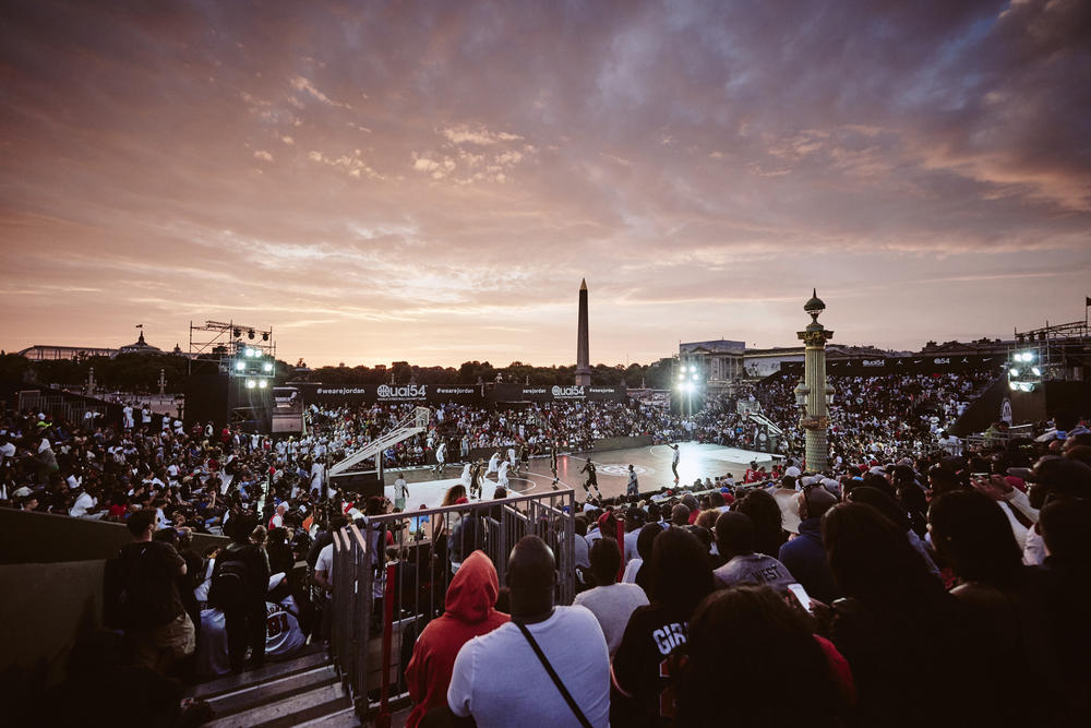 Jordan Brand and Nike Basketball Host World Streetball Championship as Paris Jordan Legacy Court opens