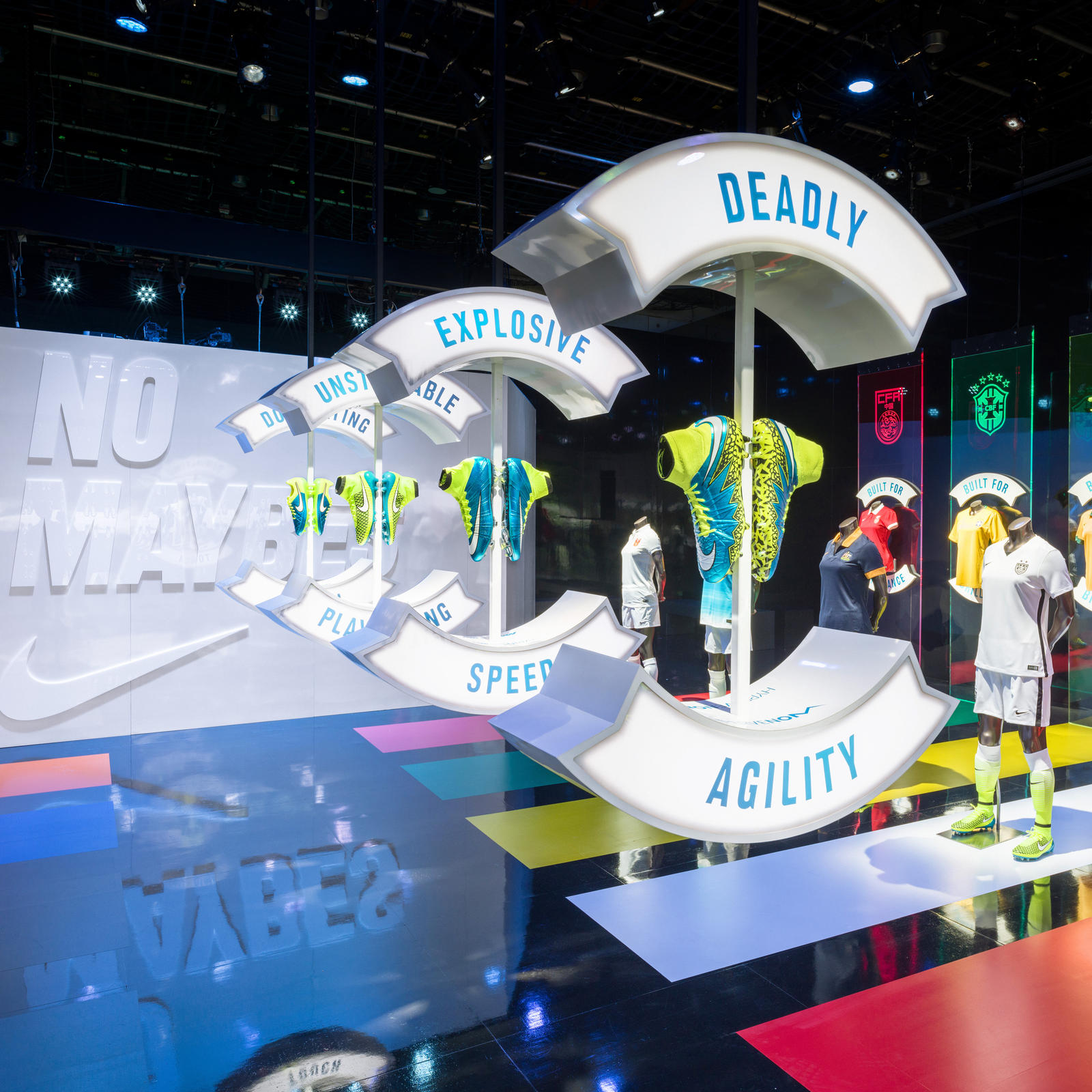 Nike Brings  NOMAYBES Soccer Experience Space to Vancouver - Nike News 87e3d443aea6