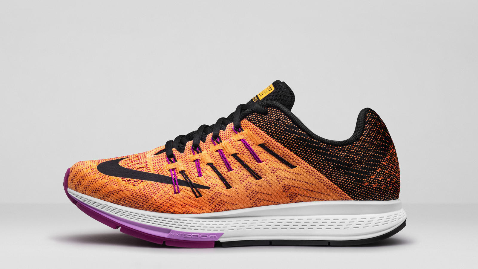 NIKE WMNS AIR ZOOM ELITE 8 YELLOW - NIKE WOMEN'S RUNNING SHOES