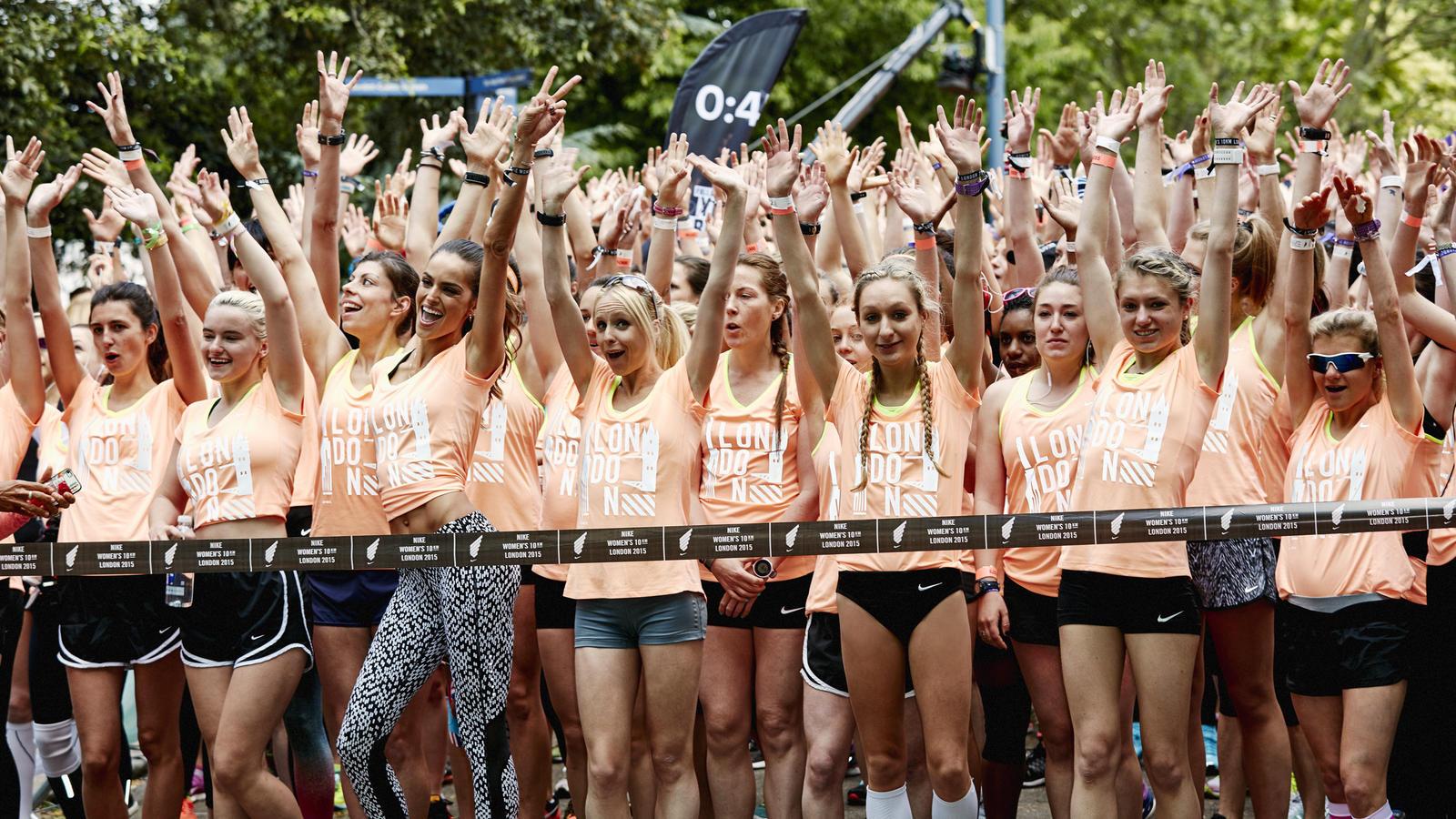 Nike Womens 10k London Start Line