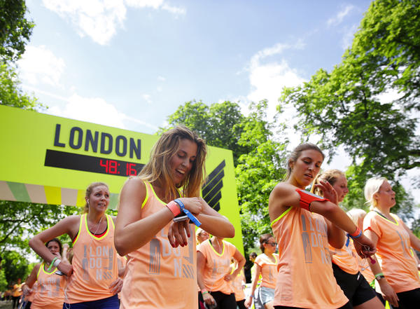 Ten thousand women come together to celebrate We Run ...
