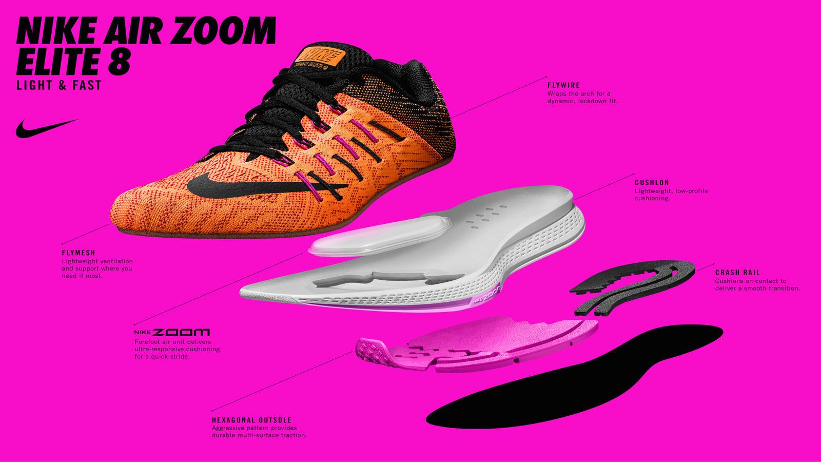 Robusto concerto Principiante  Nike Air Zoom Elite 8: Low, Sleek, Fast and Light - Nike News