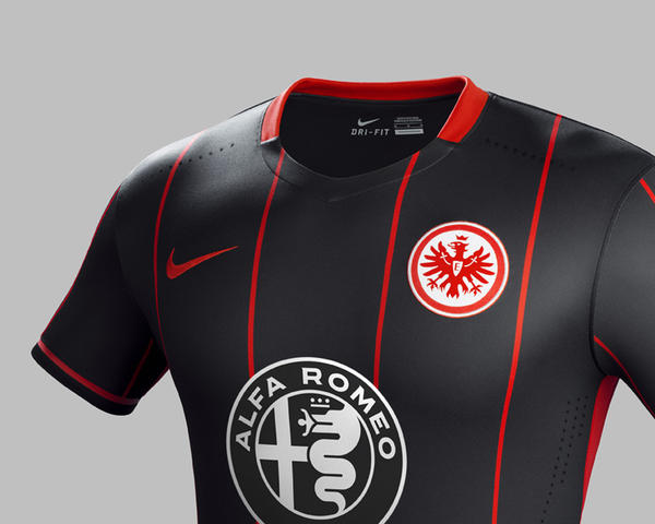 Nike Football Creates Clean, Striking and Modern Look For Eintracht Frankfurt 2015-16 Home Kit