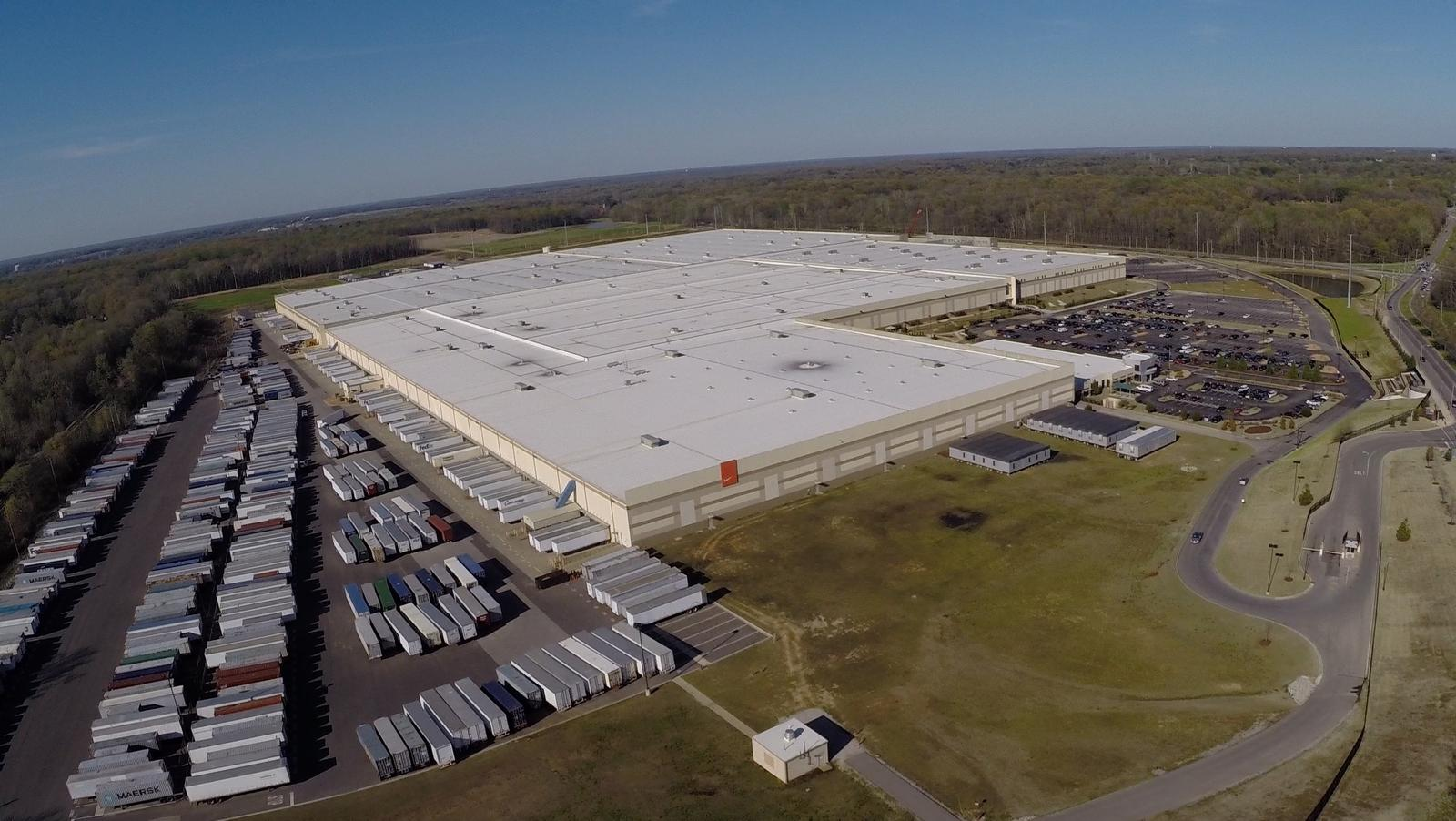 de8d084f0cff Nike Opens Its Largest Distribution Center Worldwide In Tennessee ...