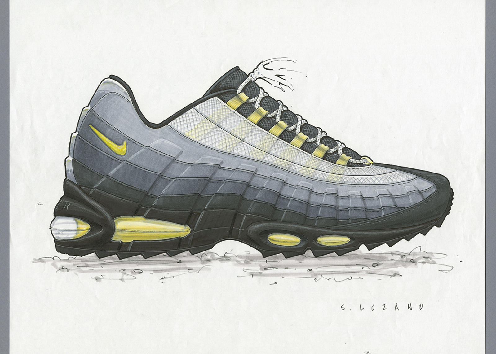 Anatomy Of Air The Air Max 95 Nike News