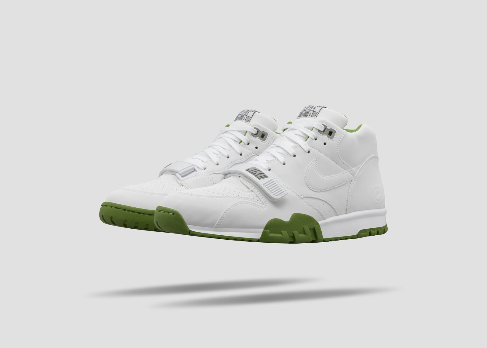 ea3954aaba95a0 Going Green  NikeCourt Air Trainer 1 Mid x fragment - Nike News