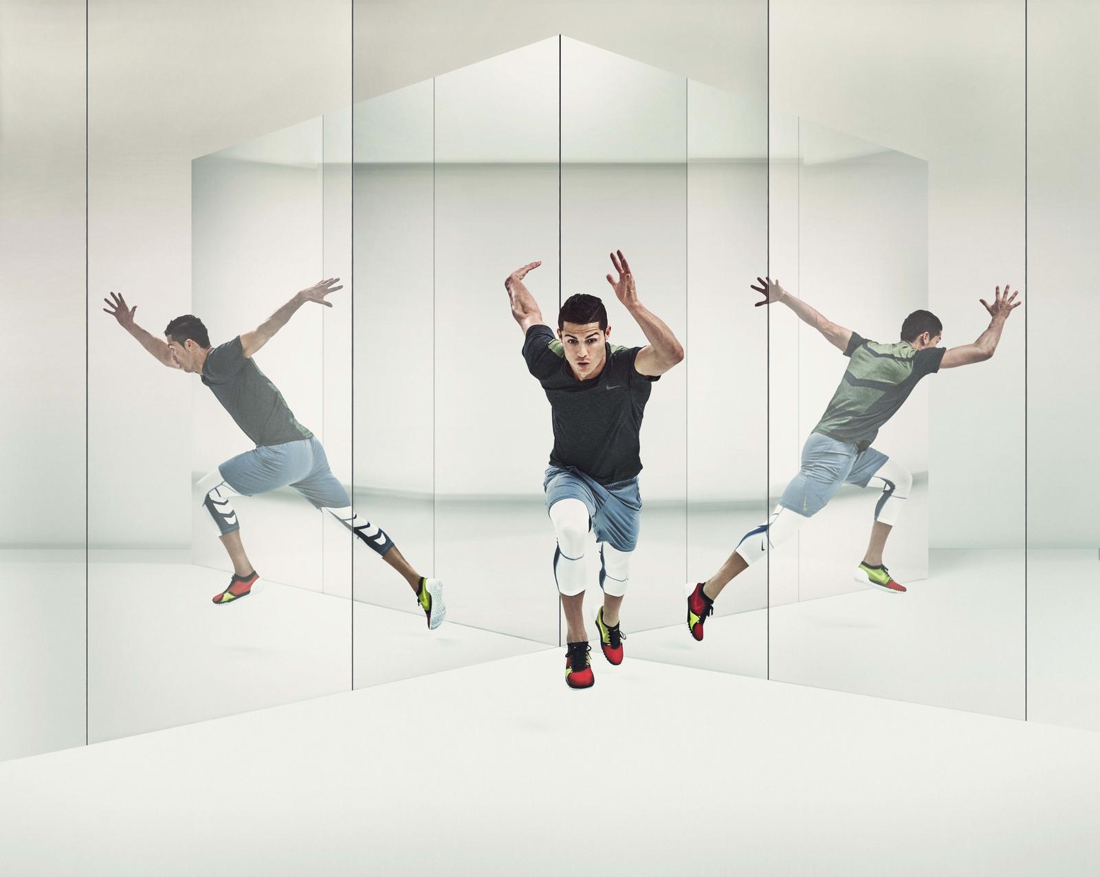 Cristiano Ronaldo + Nike Training Free TR 3