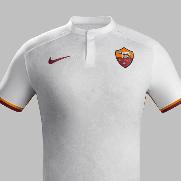 AS Roma Away Kit - 2015-16 - Low