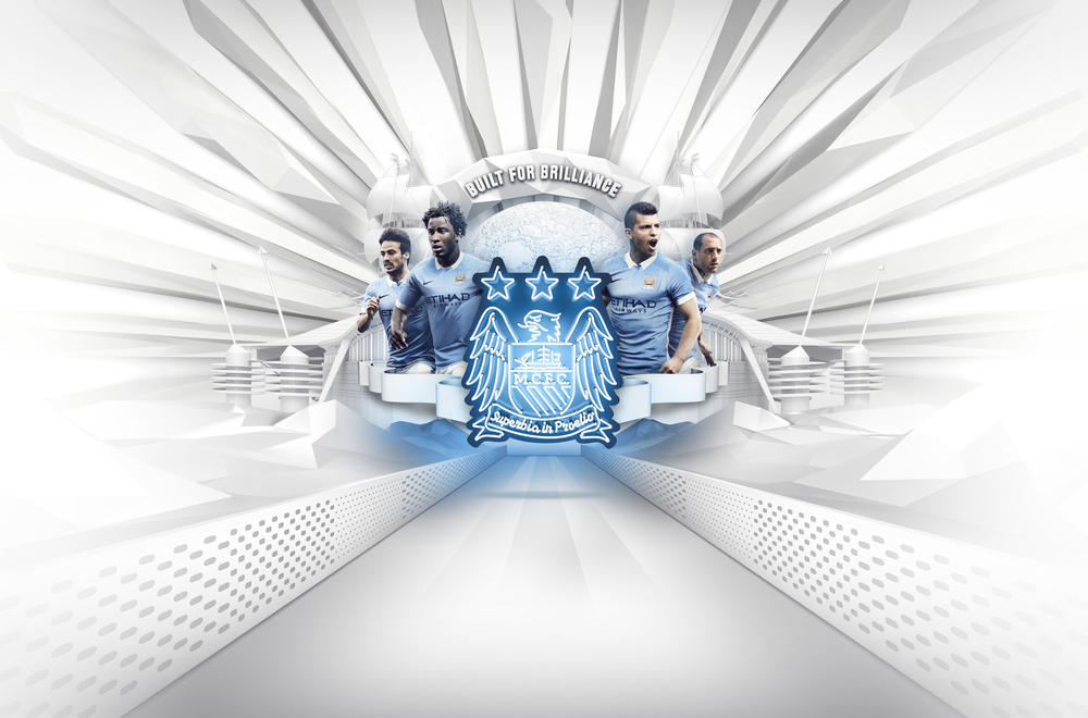 Manchester City 2015-16 Home Kit Brings Nike Football Performance Innovation to a Timeless Look