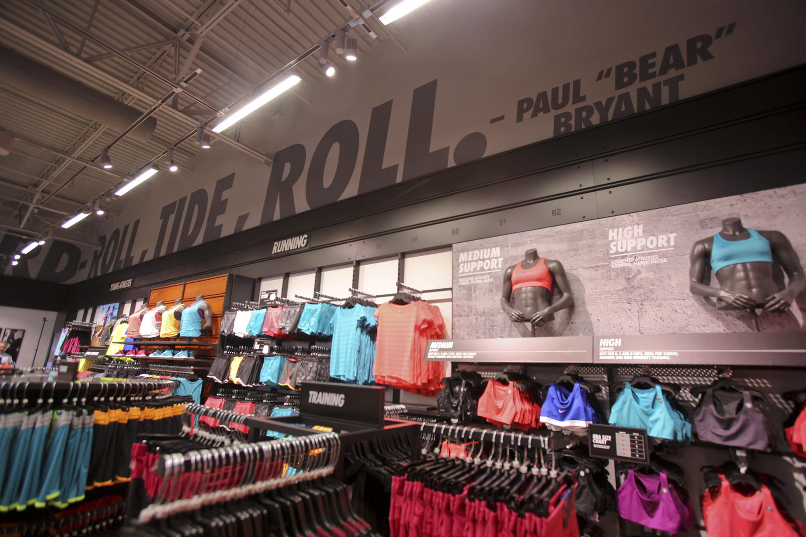 rise and roll ttown nike comes to tuscaloosa nike news