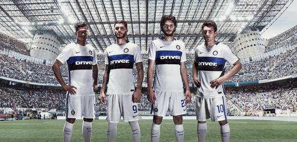 Classic Details Receive Daring Update in Nike Inter Milan Away Kit for 2015-16