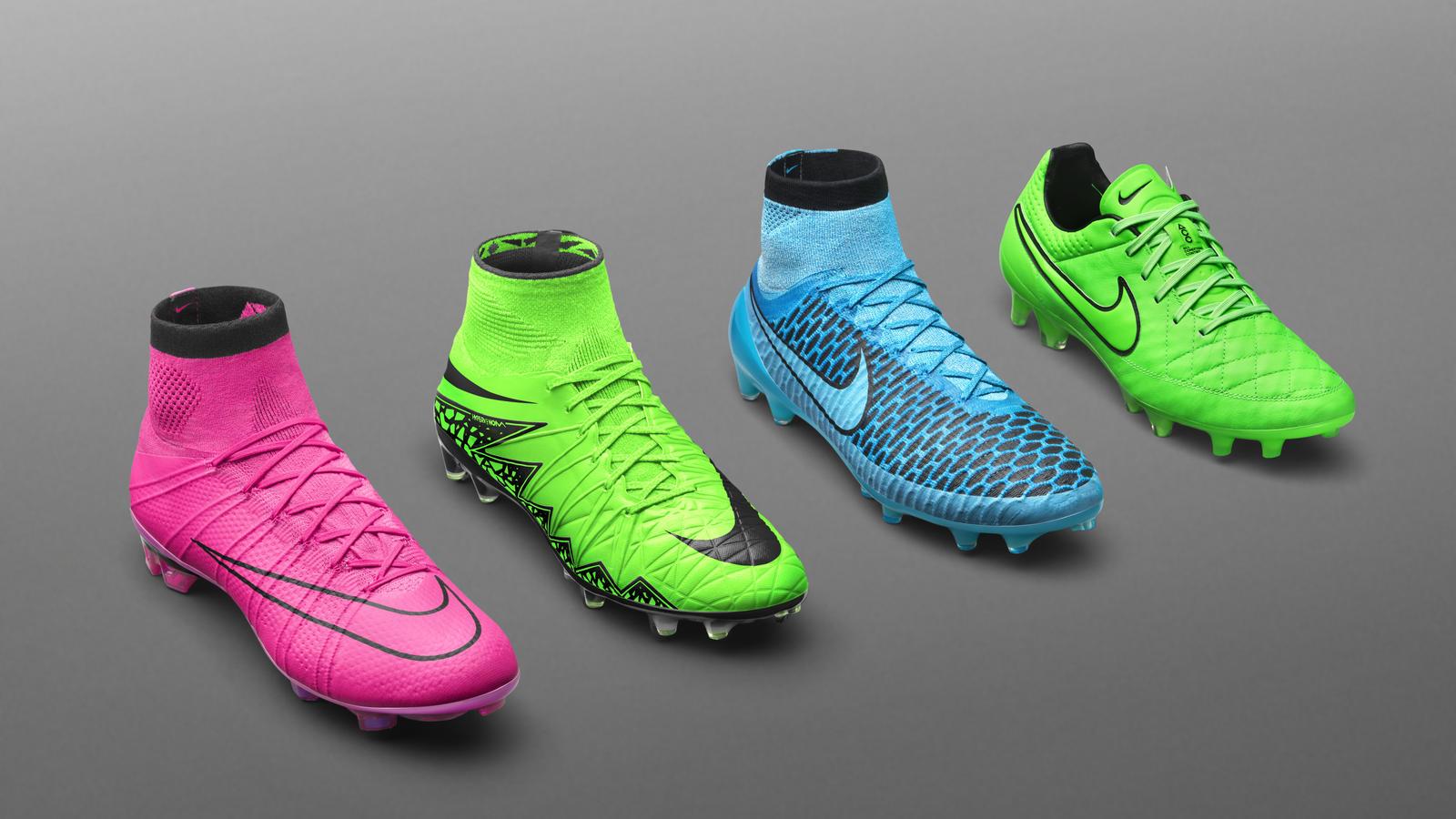 Nike apresenta novas cores de chuteiras - Nike News 5fa62d13595a0
