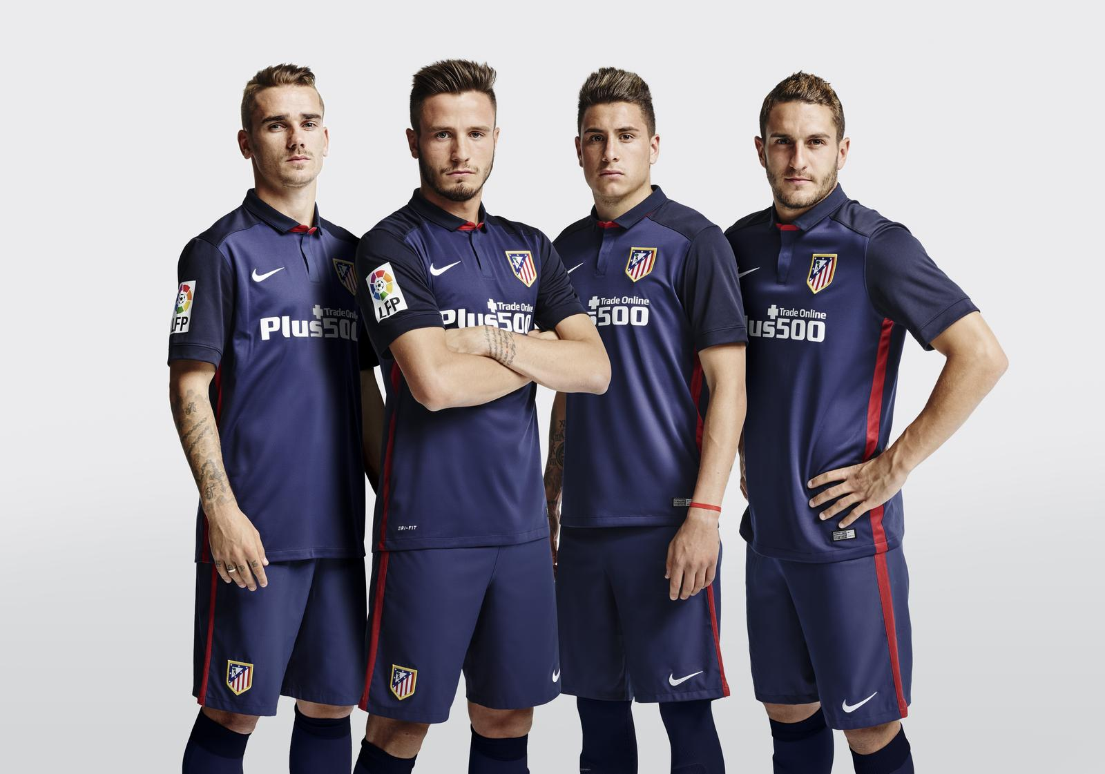 b2a1d2f56 Atlético de Madrid's Dark Blue Away Colors Evoke Club's Landmark ...