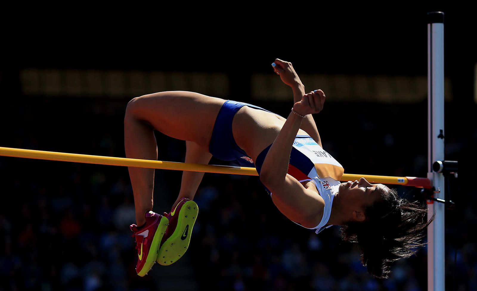 how to high jump in hindi