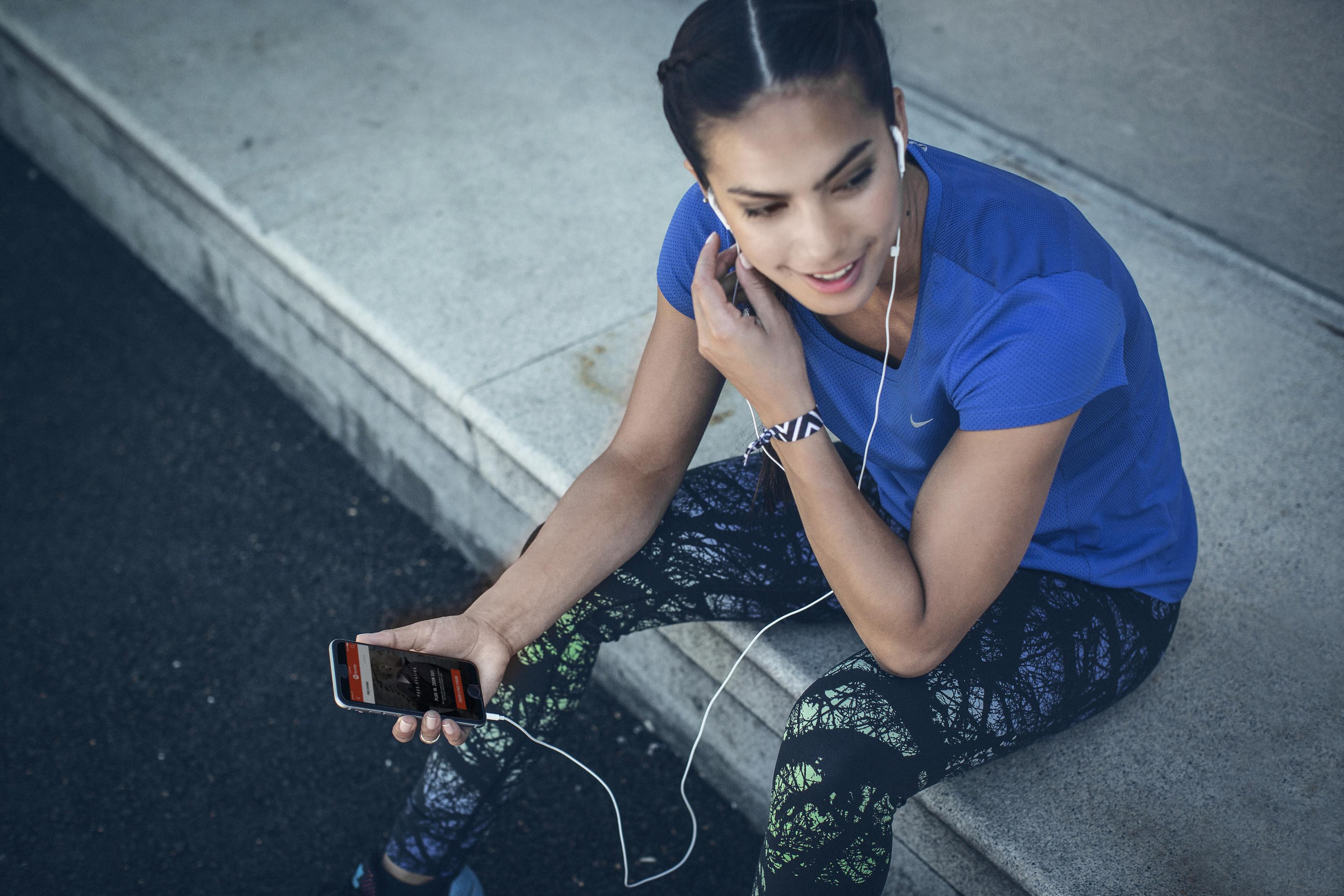 Nike Musique En Cours Dexécution