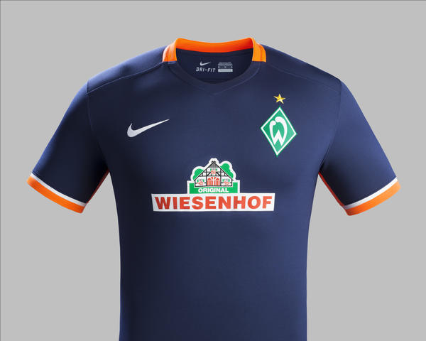 Modern Werder Bremen Away Kit for 2015-16