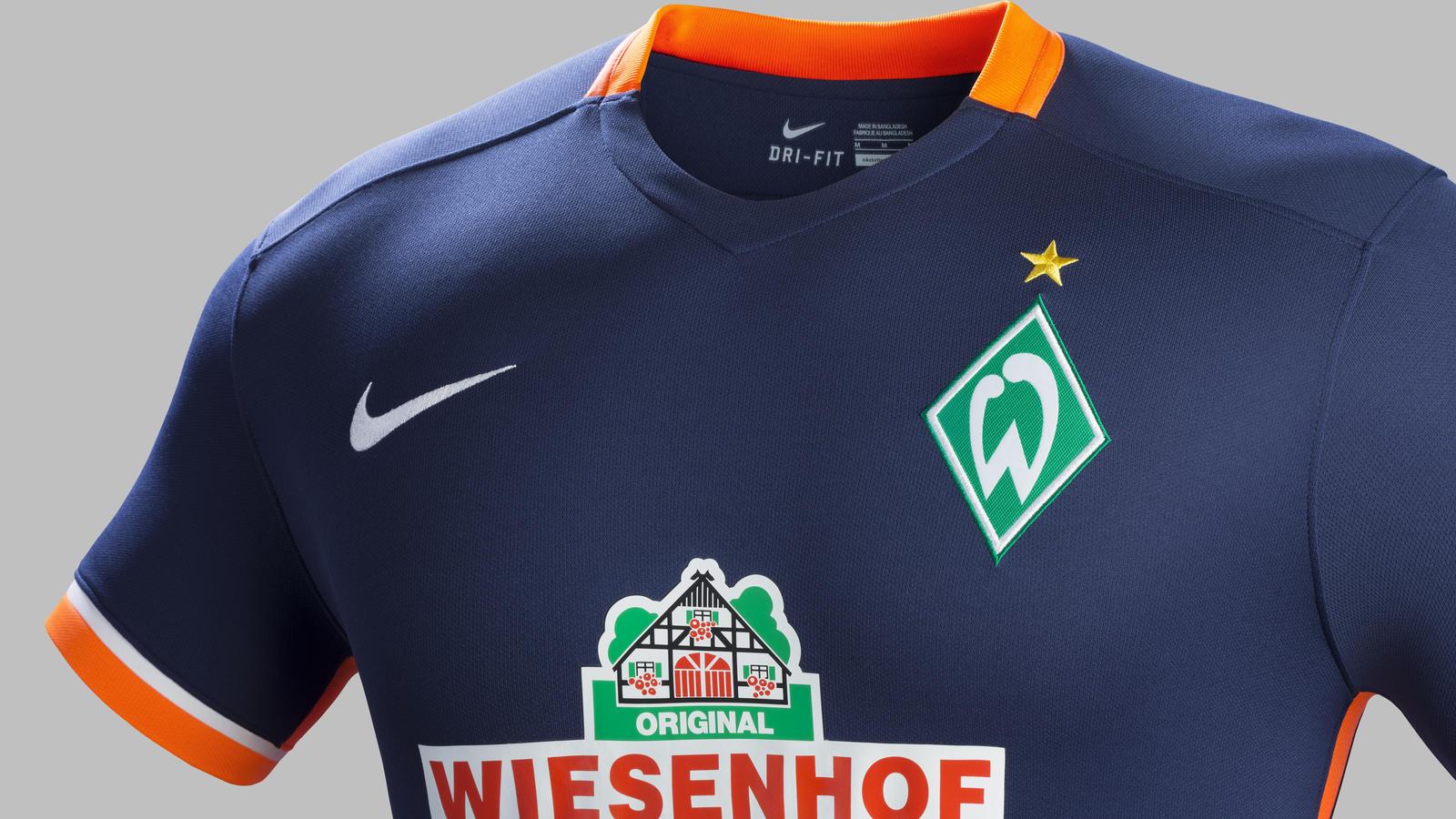 00e5dd11d53 Fa15 Club Kits PR Stadium Crest A Werder Bremen R. New Werder Bremen 2015-16  away shirt. Fa15 Club Kits PR Stadium Venting A Werder Bremen R