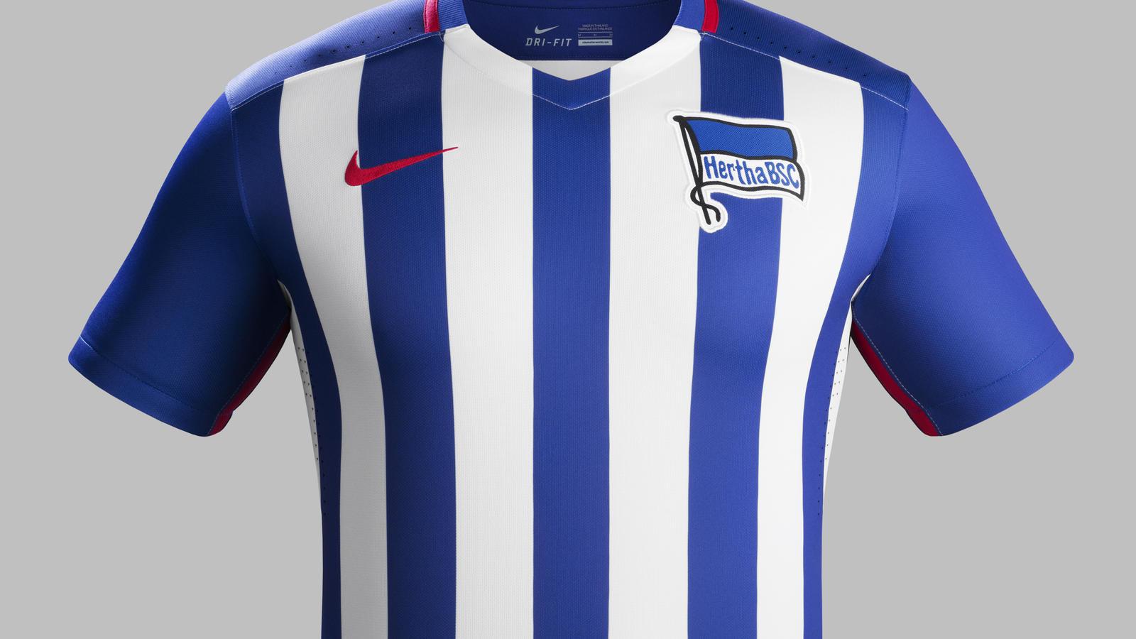 0a95b9f27 Fa15 Club Kits PR Match Front H Hertha Berlin R. Hertha BSC Berlin 2015-16  home kit. Fa15 Club Kits PR Match Crest H Hertha Berlin R