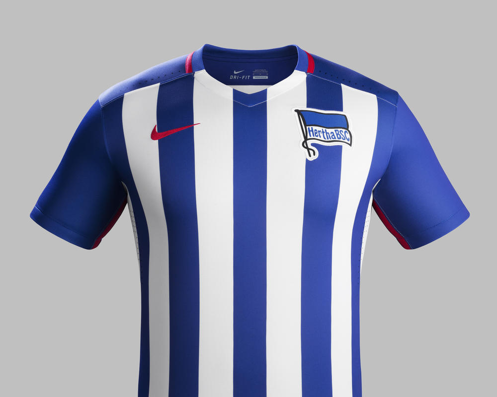 Berlin Pride Inspires Hertha BSC 2015-16 Home and Away Kits