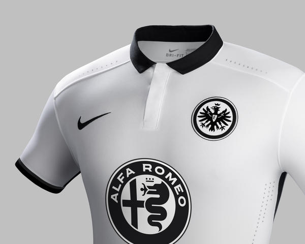 Clean and Bold Eintracht Frankfurt 2015-16 Away Kit