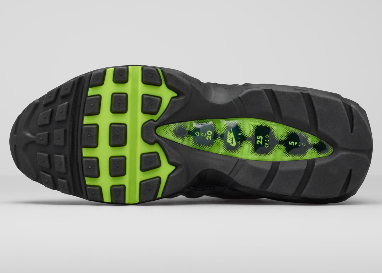 588ae13fdf mns-am95-og-2. Precisely 7,328 days ago, the Sergio Lozano-designed Nike  Air Max 95 introduced a futurist ...