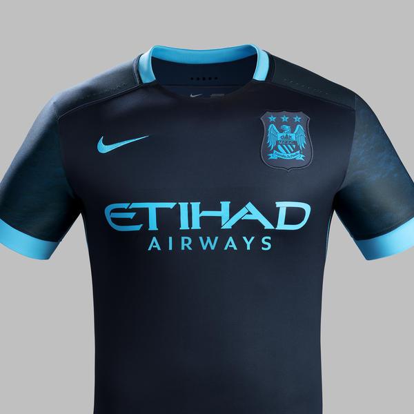 online store e6baa 38cf1 Club Anthem Inspires 2015-16 Manchester City Away Kit - Nike ...