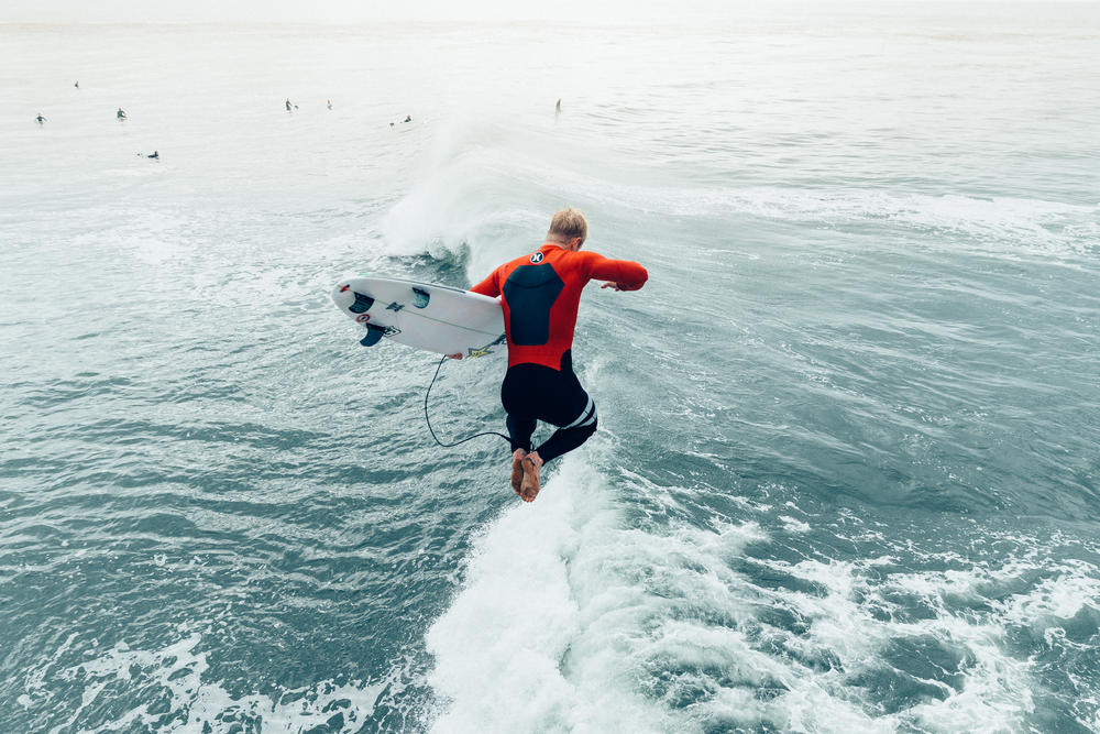 Inner Strength: Surfer Nat Young Breaks Stereotypes (and a Sweat)