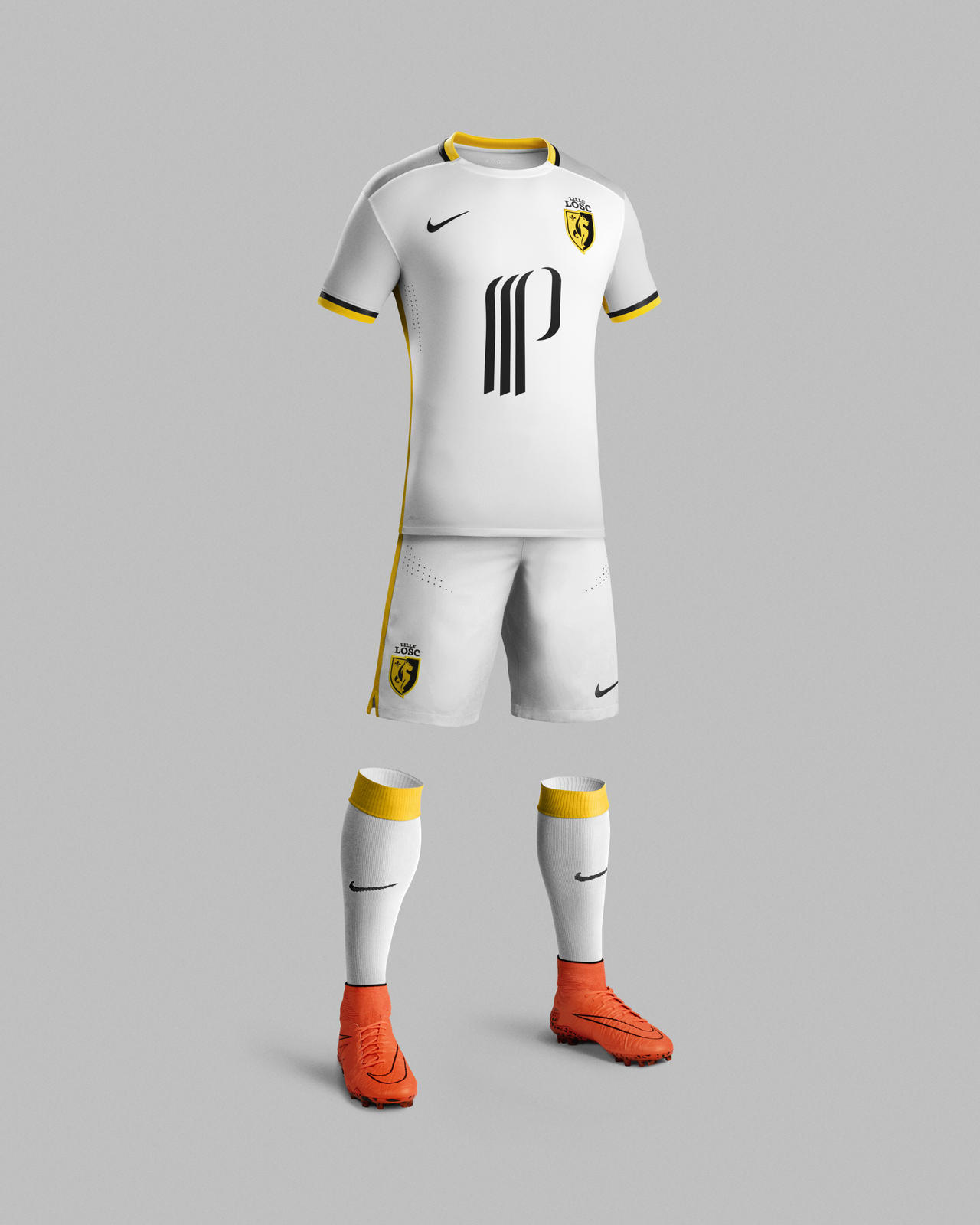 huge selection of 3926b b3e9e Traditional 2015-16 Away Kit for Lille OSC Inspired by Local ...