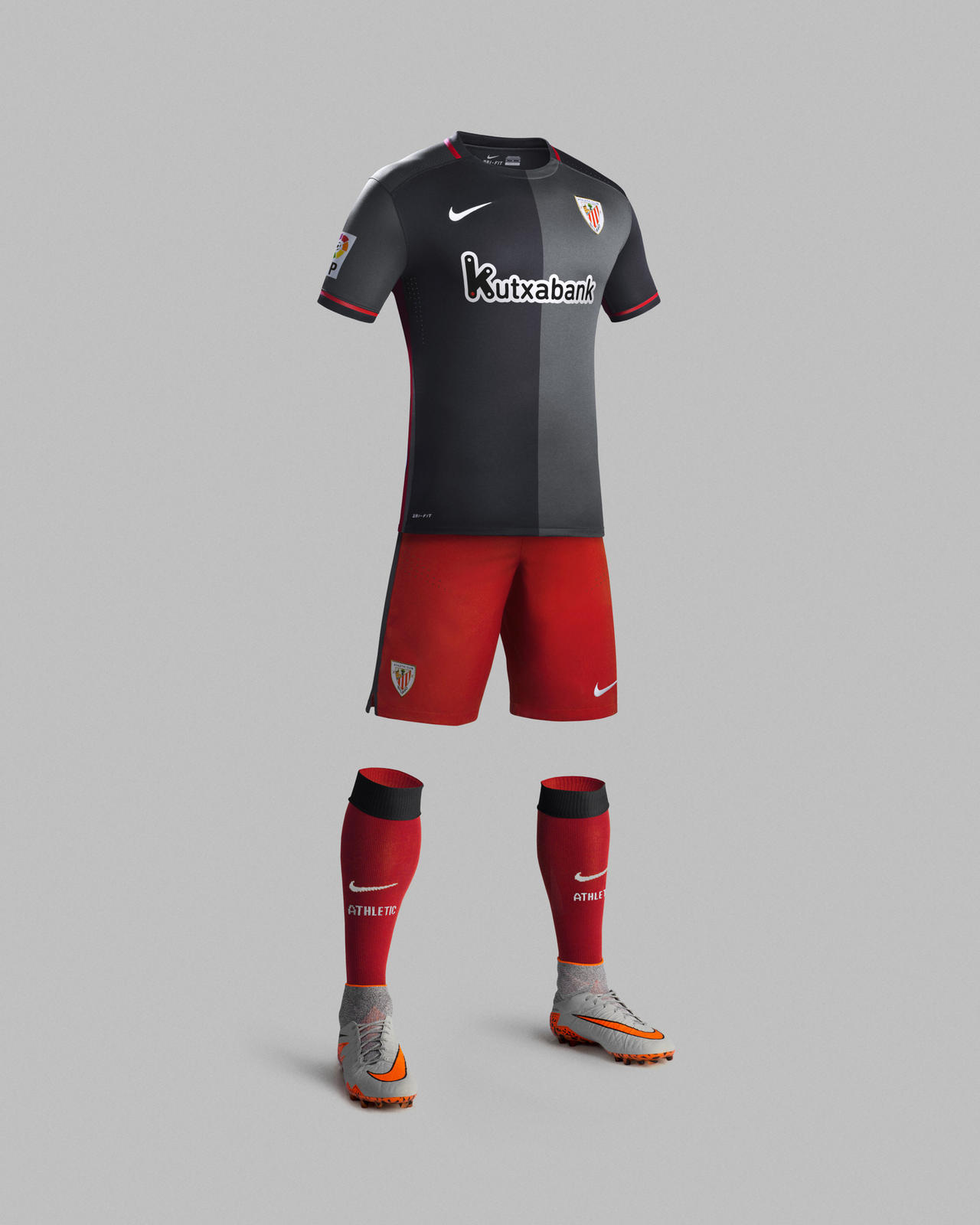 Athletic Club de Bilbao new away kit for season 2015-16