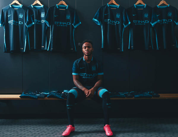 Club Anthem Inspires 2015-16 Manchester City Away Kit